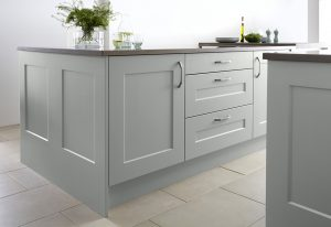 Burbidge Stowe in soft moss - Doug Farleigh Kitchens