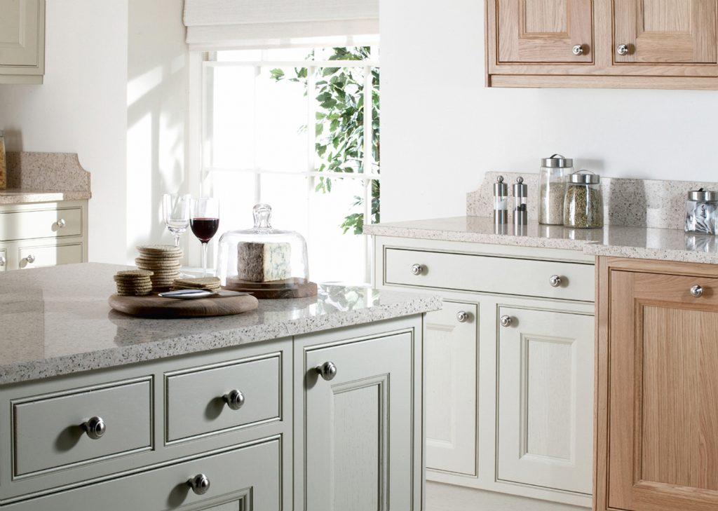 Burbidge Tetbury Oak and Sage - Doug Farleigh Kitchens