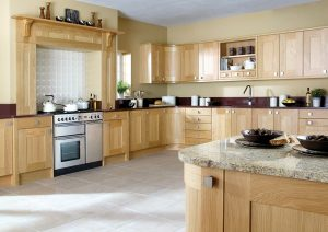 Lansdowne Natural Oak - Doug Farleigh Kitchens