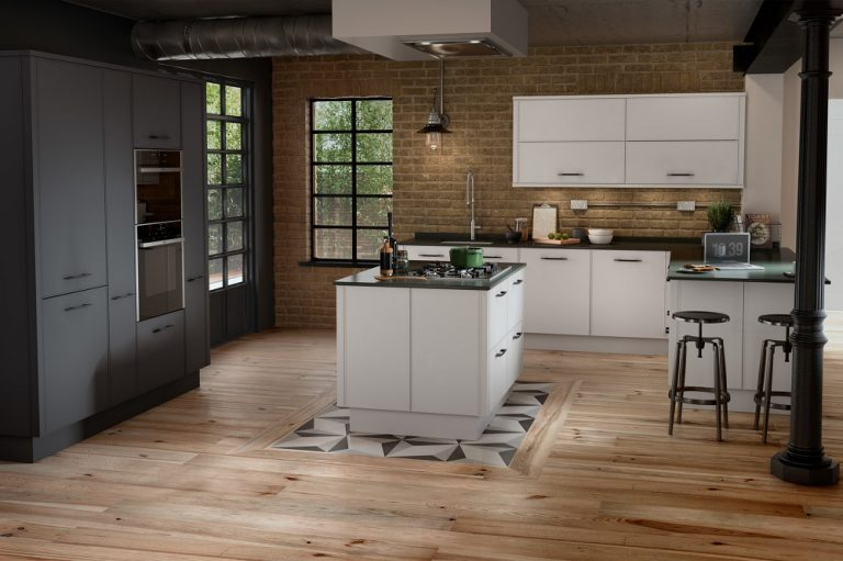 Parker White - Graphite - Doug Farleigh Kitchens