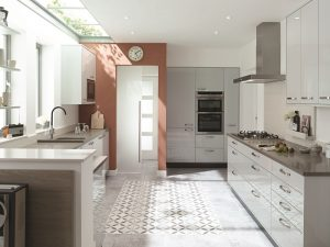 Porter Dove Grey Gloss - Doug Farleigh Kitchens