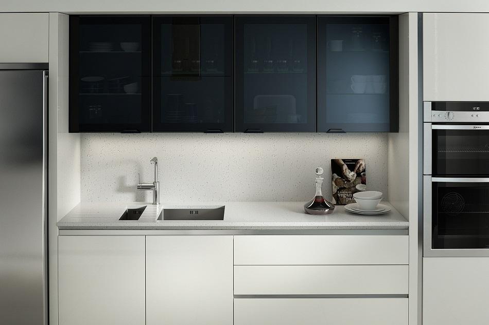 Feature Black Glazed - Doug Farleigh Kitchens