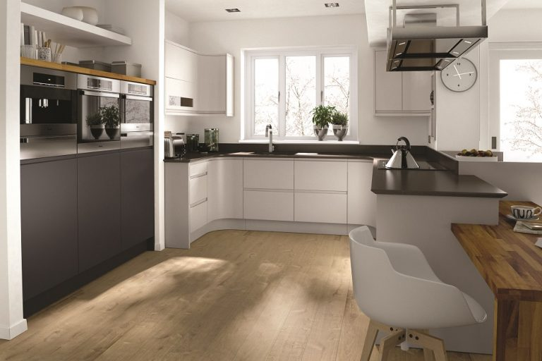 Remo Graphite and Dove Grey - Doug Farleigh Kitchens