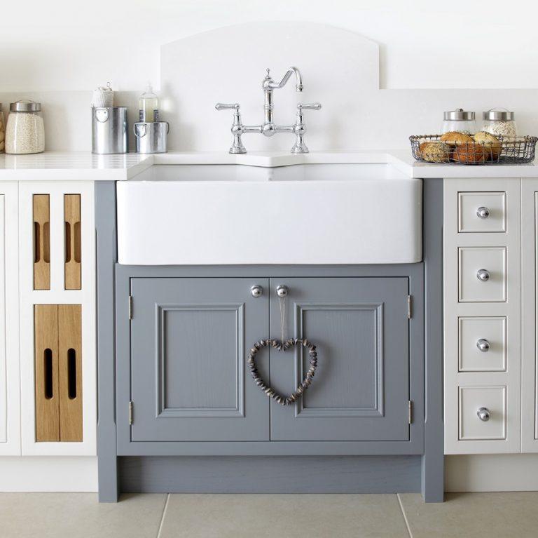 Salcombe Belfast Sink Unit - Doug Farleigh kitchens