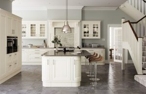 In-frame Cream Kitchen - Doug Farleigh Kitchens