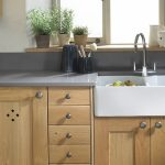 Oak Shaker Kitchen - Belfast Sink - Doug Farleigh Kitchens