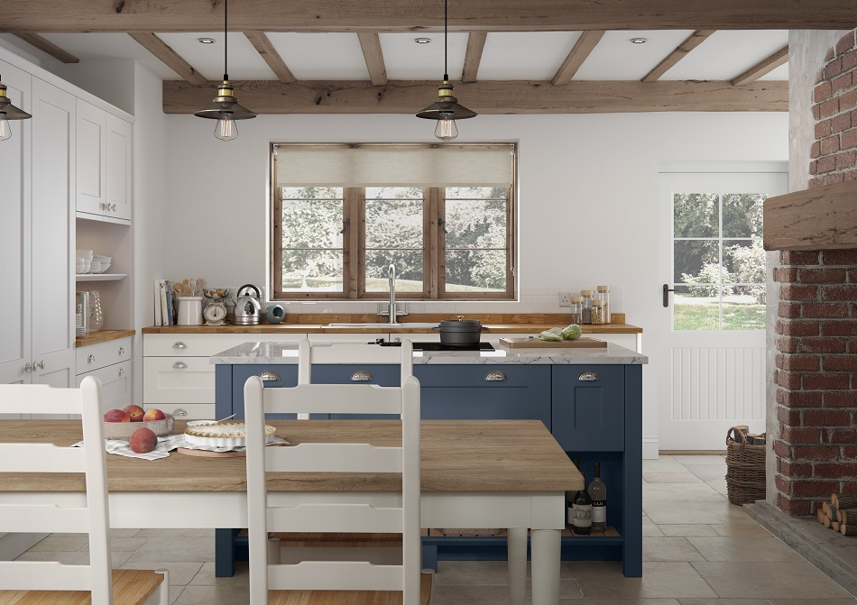 Cottage Shaker Kitchen - Doug Farleigh Kitchens