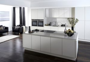 Modern Handleless Kitchen - Doug Farleigh Kitchens