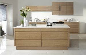 Contemporary Oak Kitchen - Doug Farleigh Kitchens