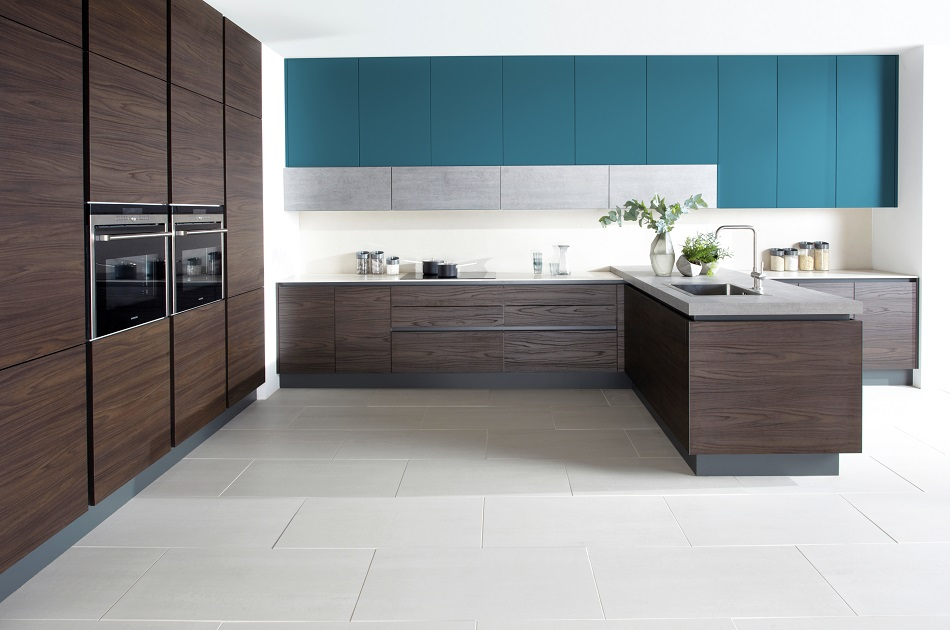 Modern Wood Kitchen - Doug Farleigh Kitchens