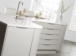 Gloss Grey Kitchen - Doug Farleigh Kitchens