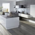 Modern Grey Minimalist Kitchen - Doug Farleigh Kitchens