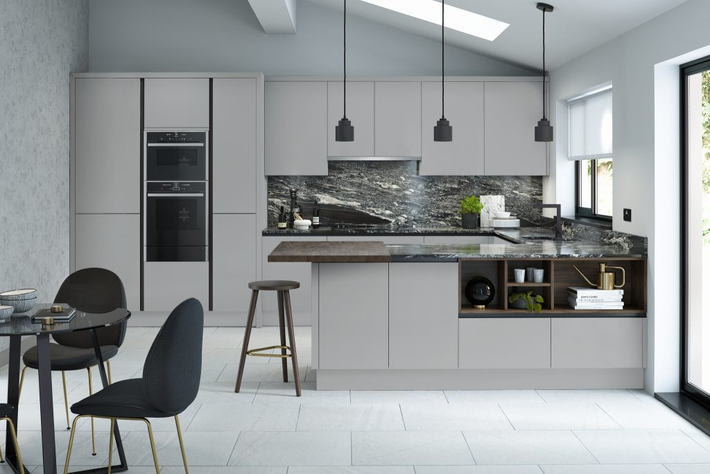 Porter Modern PWS Kitchen - Doug Farleigh Kitchens