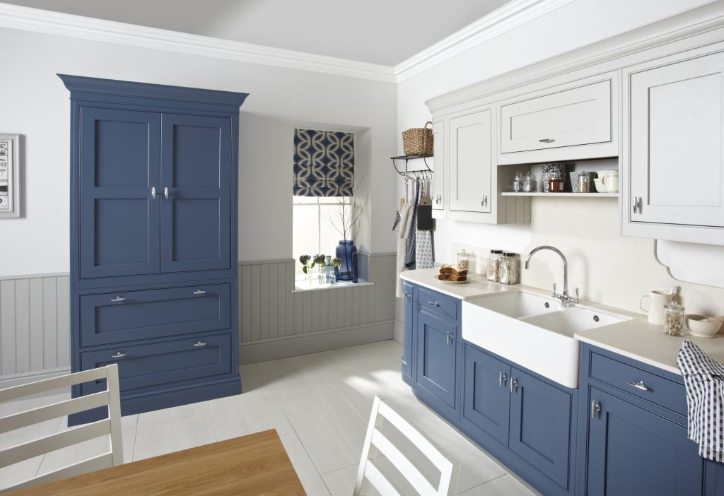 Burbidge langton painted old navy - Doug Farleigh Kitchens