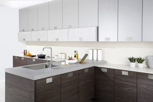 Otto dark Walnut and Concrete - Doug Farleigh kitchens