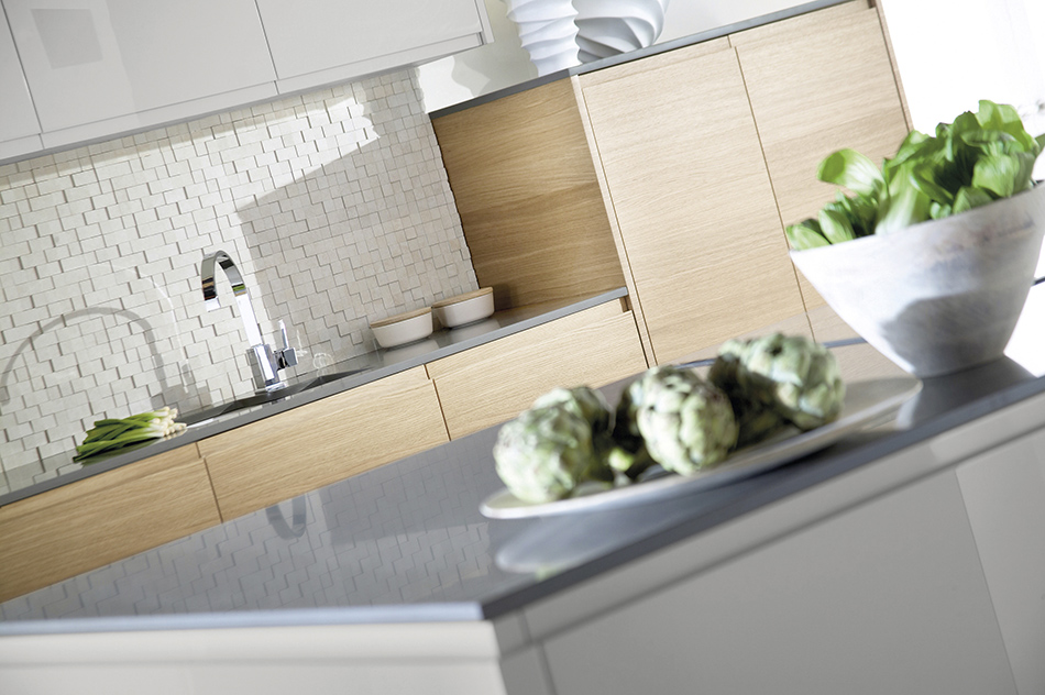 Malmo Oak and Grey Modern Kitchen - Doug Farleigh Kitchens