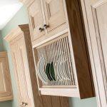 Oak Plate Rack - Doug Farleigh Kitchens