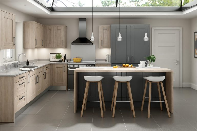 Broadoak Rye - Charcoal - Doug Farleigh Kitchens
