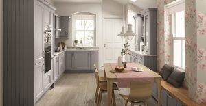 Mornington Beaded Partridge Grey - Doug Farleigh kitchens