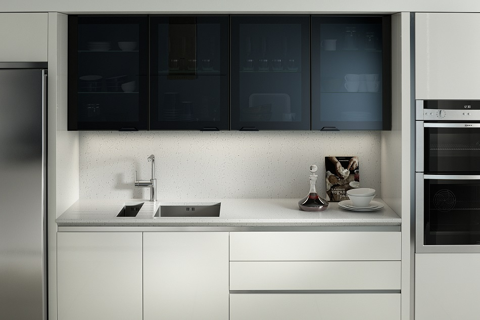 Feature Black Glazed - Doug Farleigh Kitchens
