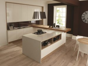 Remo Alabaster and oak - Doug Farleigh Kitchens