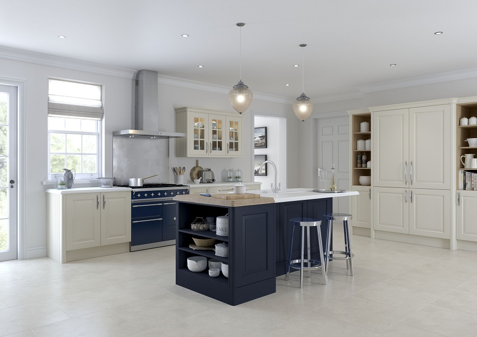 Traditional Painted Kitchen - Doug Farleigh Kitchens