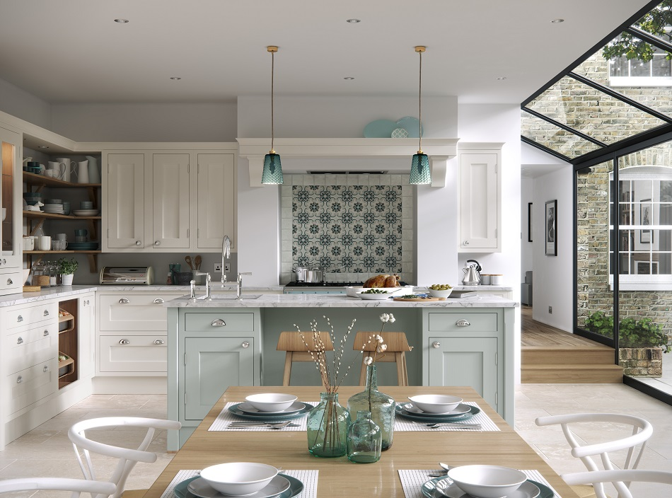 In-frame Painted Kitchen - Doug Farleigh Kitchens