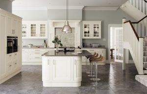 In-frame Cream Kitchen - Doug Farleigh Kitchens