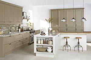 Painted Shaker Kitchen - Doug Farleigh Kitchens