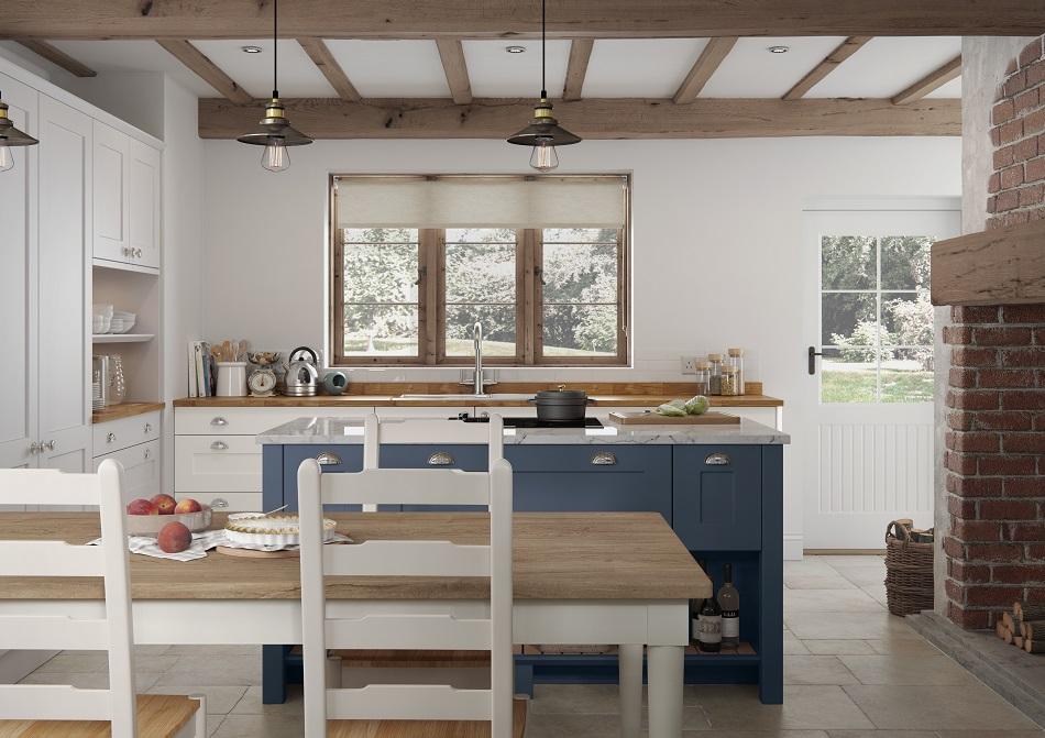 Cottage Shaker Kitchen - Doug Farleigh Kitchens