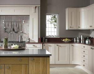 Contemporary Oak Shaker Kitchen - Doug Farleigh Kitchens