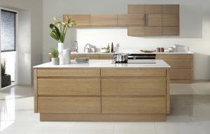 Contemporary Oak Kitchen - Doug Farleigh Kitchens