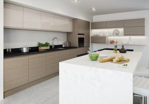 Modern Oak Kitchen - Doug Farleigh Kitchens