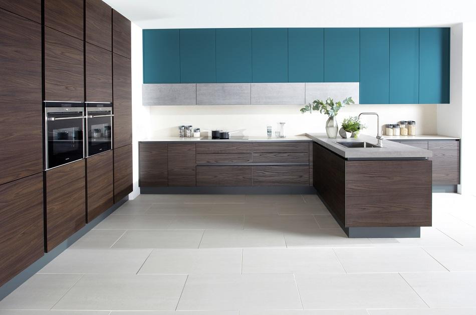 Modern Wood Kitchen - Doug Farleigh Kitchens