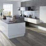 Modern Grey Minimalist Kitchen - Doug Farleigh Kitchens