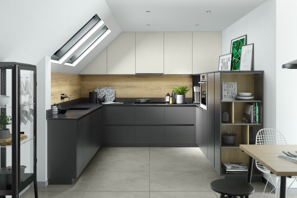 Compact modern kitchen design - Doug Farleigh Kitchens