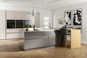Modern Handleless Kitchen Design - Doug Farleigh Kitchens