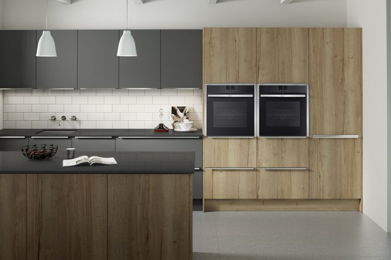 Reclaimed Oak and Graphite - Doug Farleigh Kitchens